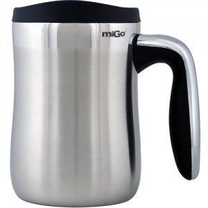 Senja Desktop Mug - Stainless Steel coffee mug